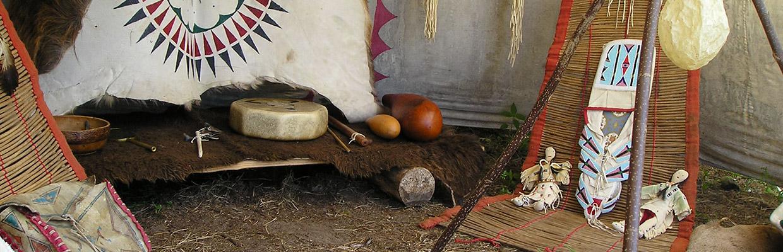 Wioska indiańska Hantajo - zdjęcie pochodzi ze strony http://hantajo.com/pl/